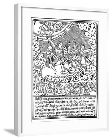 The Four Horsemen of the Apocalypse, 1692-1696-Vasili Koren-Framed Giclee Print