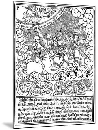 The Four Horsemen of the Apocalypse, 1692-1696-Vasili Koren-Mounted Giclee Print