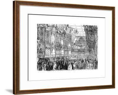 Procession of Her Majesty to the State Ball in the Guildhall, City of London, July 1851-William Griggs-Framed Giclee Print
