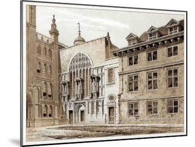 West Front of Guildhall Chapel, City of London, 1886-William Griggs-Mounted Giclee Print