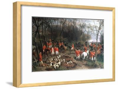 Elizabeth at the Hunt, Late 19th Century-Wilhelm Richter-Framed Giclee Print