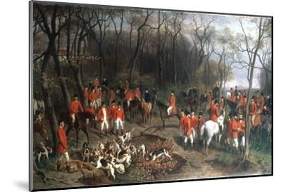 Elizabeth at the Hunt, Late 19th Century-Wilhelm Richter-Mounted Giclee Print