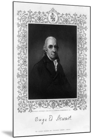 Dugald Stewart, 19th Century-William Home Lizars-Mounted Giclee Print