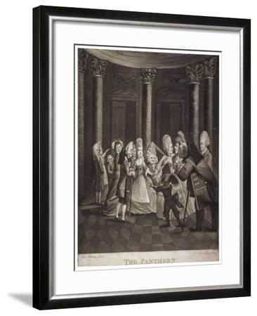 The Pantheon, Oxford Street, Westminster, London, C1770-William Humphrey-Framed Giclee Print