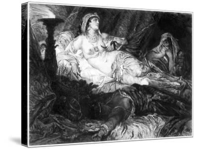 Cleopatra, C1880-1882-W Unger-Stretched Canvas Print