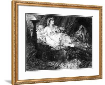 Cleopatra, C1880-1882-W Unger-Framed Giclee Print