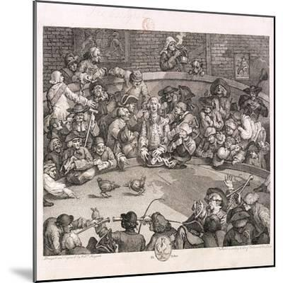 The Cockpit, London, 1759-William Hogarth-Mounted Giclee Print