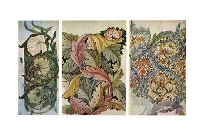 Working Drawings by William Morris (1834-189), 1934-William Morris-Giclee Print