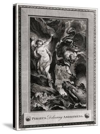 Perseus Delivering Andromeda, 1775-W Walker-Stretched Canvas Print