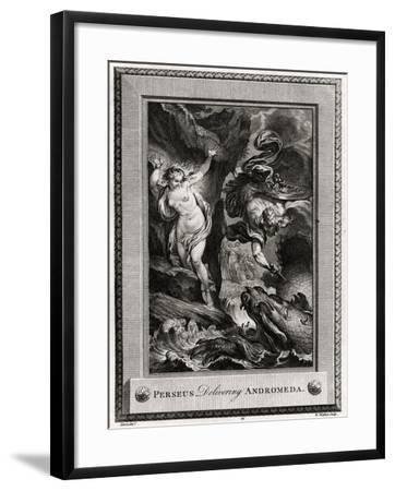 Perseus Delivering Andromeda, 1775-W Walker-Framed Giclee Print