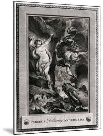 Perseus Delivering Andromeda, 1775-W Walker-Mounted Giclee Print