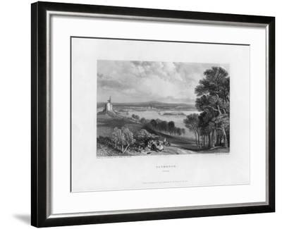 Plymouth, Devon, 19th Century-William Finden-Framed Giclee Print
