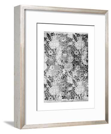 Norwich Pattern Wallpaper, 1889-William Morris-Framed Premium Giclee Print
