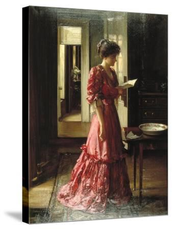The Letter, 1910-William Mouat Loudan-Stretched Canvas Print