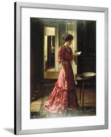 The Letter, 1910-William Mouat Loudan-Framed Giclee Print