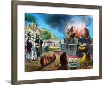Burnt Offering, 20th Century-WC Hughes-Framed Giclee Print