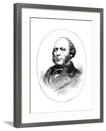 John Ericsson, Swedish-Born American Engineer and Inventor-Whymper-Framed Giclee Print
