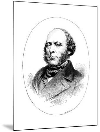 John Ericsson, Swedish-Born American Engineer and Inventor-Whymper-Mounted Giclee Print