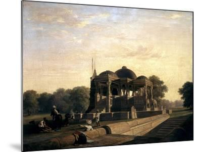 Ancient Temple at Hulwud, 1826-William Frederick Witherington-Mounted Giclee Print