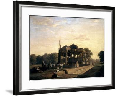 Ancient Temple at Hulwud, 1826-William Frederick Witherington-Framed Giclee Print