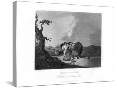 Farmer's Son, C1872-William G Jackman-Stretched Canvas Print