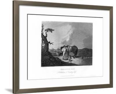 Farmer's Son, C1872-William G Jackman-Framed Giclee Print