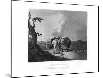 Farmer's Son, C1872-William G Jackman-Mounted Giclee Print