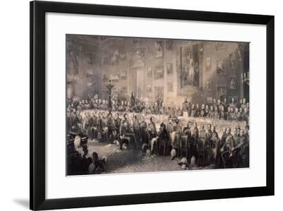 Apsley House, Westminster, London, 1853-William Greatbach-Framed Giclee Print