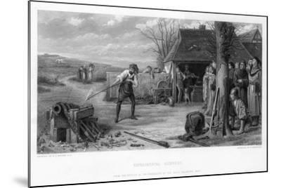 Experimental Gunnery, 19th Century-William Greatbach-Mounted Giclee Print