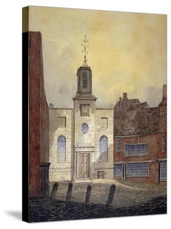 View of Holy Trinity Church, Minories, City of London, 1810-William Pearson-Stretched Canvas Print