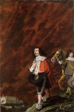 Portrait of a Gentleman in Italy, 1630-Wolfgang Heimbach-Framed Giclee Print