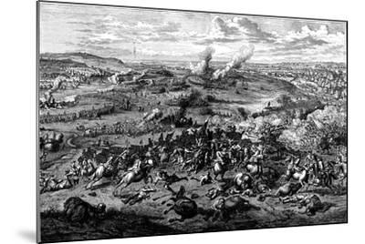 War of the Spanish Succession: Battle of Blenheim, Bavaria, 3 August 1704--Mounted Giclee Print