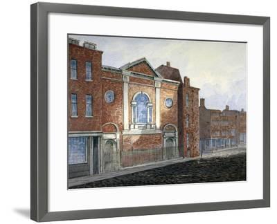 Church of St Alfege, London Wall, London, C1814-William Pearson-Framed Giclee Print