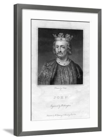 King John of England- Worthington-Framed Giclee Print