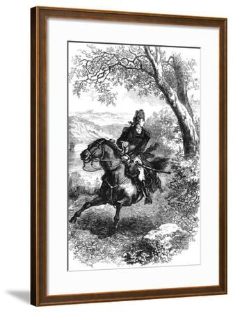 Escape of Benedict Arnold, 1780--Framed Giclee Print