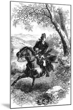 Escape of Benedict Arnold, 1780--Mounted Giclee Print