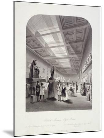 The Elgin Room, British Museum, Holborn, London, C1850-William Radclyffe-Mounted Giclee Print