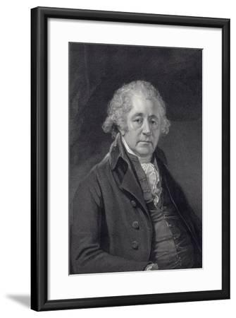 Matthew Boulton, Engineer and Industrialist, C1801-William Sharp-Framed Giclee Print