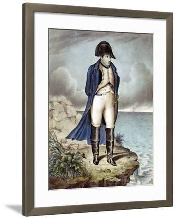 Napoleon I, Emperor of France, in Exile--Framed Giclee Print