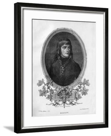 Napoleon Bonaparte, French General and Emperor, 1862 (1882-188)-Charaire et fils-Framed Giclee Print