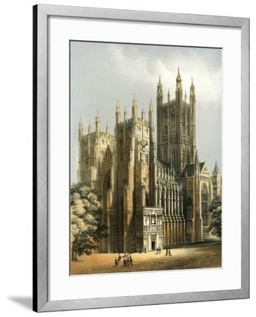 Canterbury Cathedral, Kent, C1870-WL Walton-Framed Giclee Print