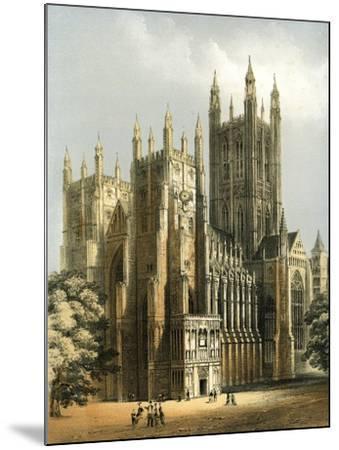 Canterbury Cathedral, Kent, C1870-WL Walton-Mounted Giclee Print