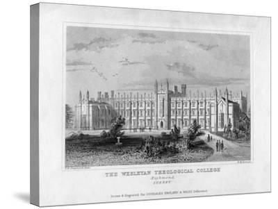 The Wesleyan Theological College, Richmond, Surrey, Mid 19th Century-WM Dore-Stretched Canvas Print