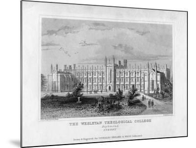 The Wesleyan Theological College, Richmond, Surrey, Mid 19th Century-WM Dore-Mounted Giclee Print