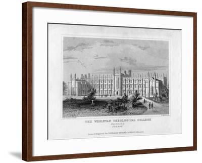 The Wesleyan Theological College, Richmond, Surrey, Mid 19th Century-WM Dore-Framed Giclee Print