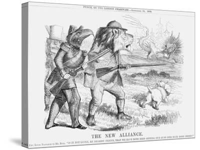 The New Alliance, 1859--Stretched Canvas Print