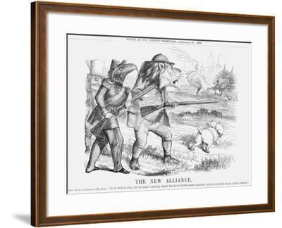 The New Alliance, 1859--Framed Giclee Print