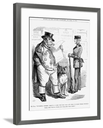 Invasion, Indeed!..., 1859--Framed Giclee Print