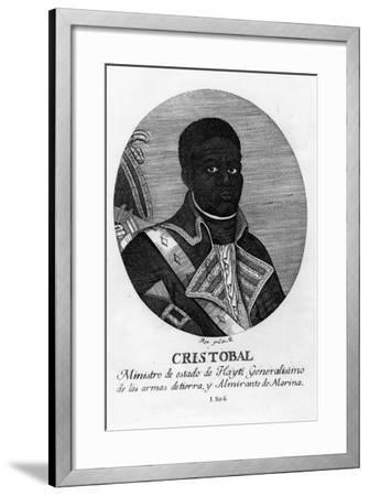Henri Christophe, King of Haiti, 1806-Rea-Framed Giclee Print