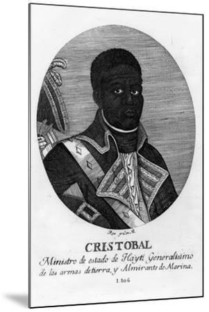 Henri Christophe, King of Haiti, 1806-Rea-Mounted Giclee Print